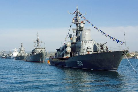 Экскурсия в день ВМФ на теплоходе — на «Парад военных кораблей»