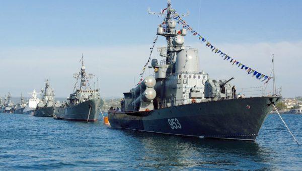 Merivoimien päiväohjelma Pietarissa