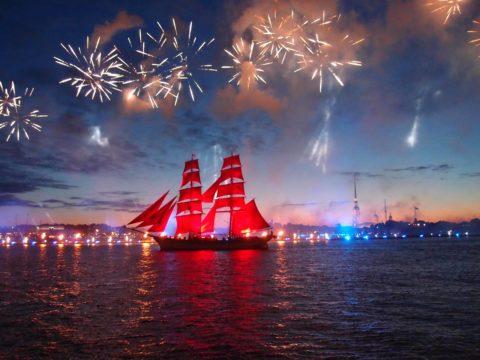 """Urlaub """"Alye Parusa"""" Schneesturm auf dem Boot"""